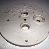 Edison Battery Jar lid with oil hole