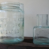 Two unusual battery jars