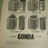 Gonda Jars Advertisement - unknown date
