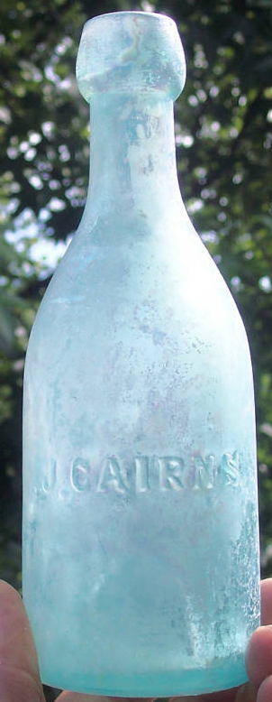 J. Cairns Soda made in Pittsburgh, PA