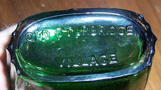 Old Sturbridge Village Glass Flasks 5